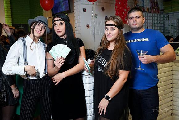 Вечеринка в честь пятилетия клуба