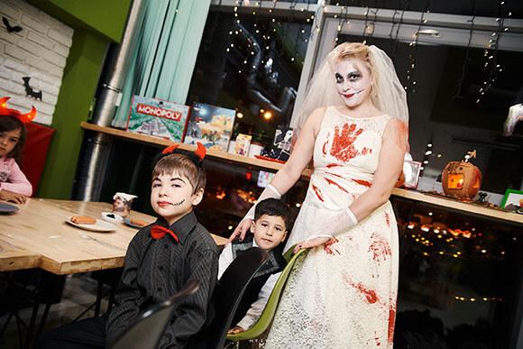 Вечеринка в стиле Хеллоуин