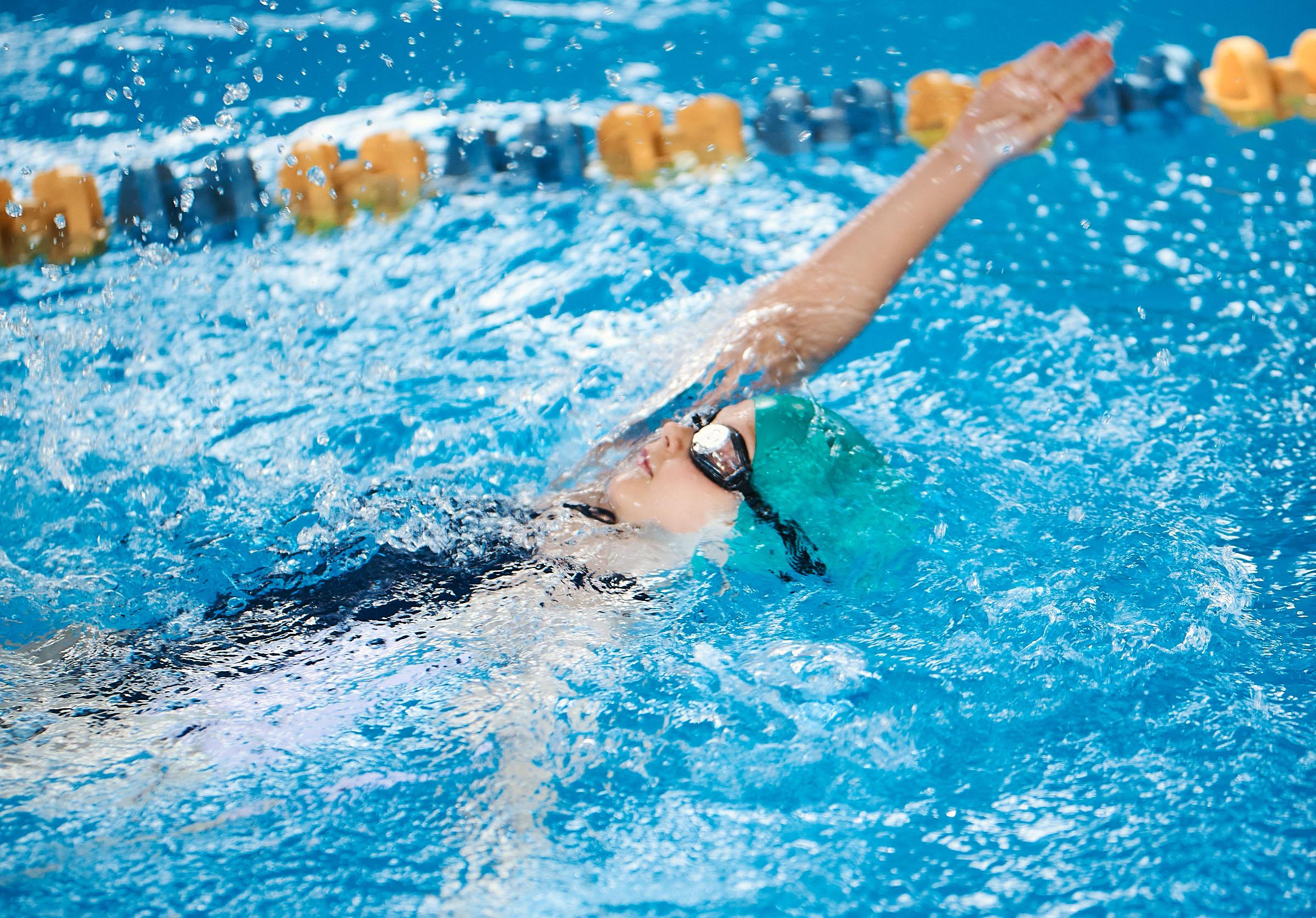 Соревнования по плаванию для детей